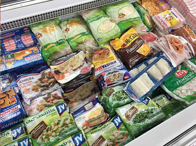 congelados supermercados supercompra